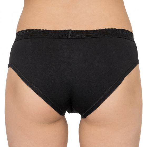 Dámské kalhotky Represent solid black (R8W-PTS-0104)