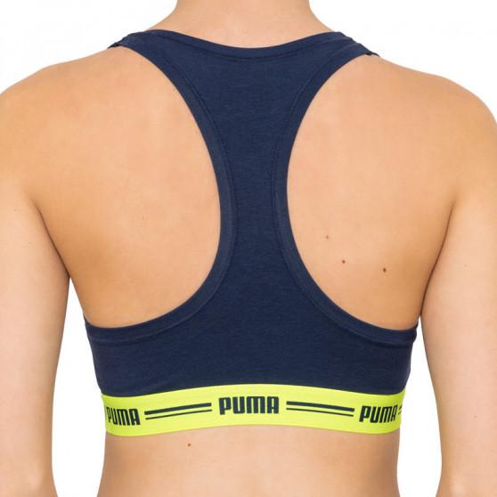 Dámská sportovní podprsenka Puma tmavě modrá (574006001 546)