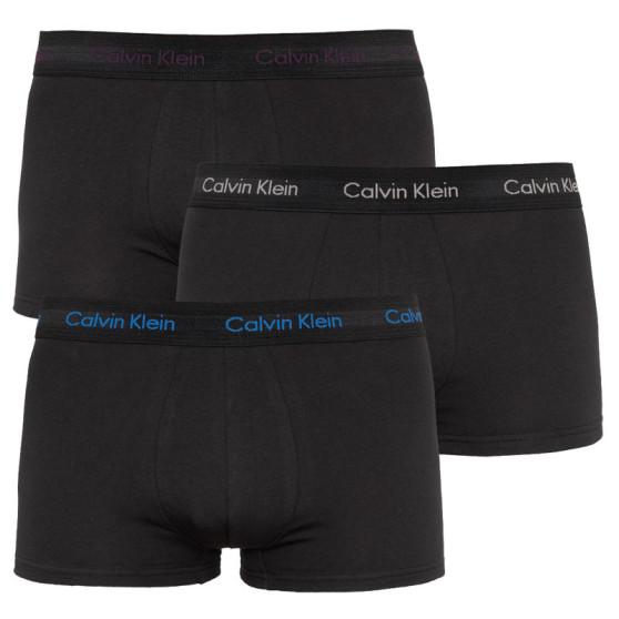 3PACK pánské boxerky Calvin Klein černé (U2664G-JKV)