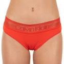 Dámské kalhotky Calvin Klein červené (QD3699E-DFU)