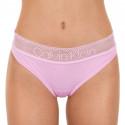 Dámské kalhotky Calvin Klein růžové (QD3698E-6DQ)