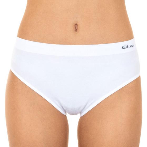 Dámské kalhotky Gina bezešvé bílé (00008)