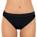 Dámské kalhotky Gina bezešvé černé (00005)