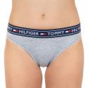 Dámské kalhotky brazilky Tommy Hilfiger šedé (UW0UW00723 004)