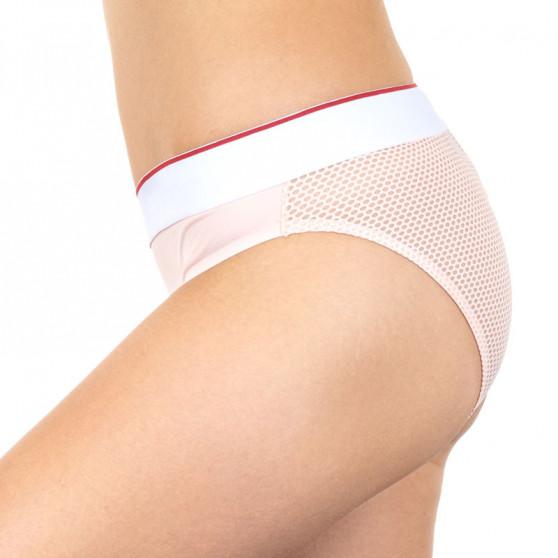 Dámské kalhotky Tommy Hilfiger růžové (UW0UW00711 614)