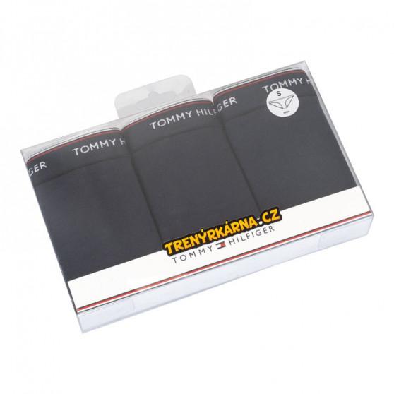 3PACK dámské kalhotky Tommy Hilfiger tmavě modré (UW0UW00043 416)