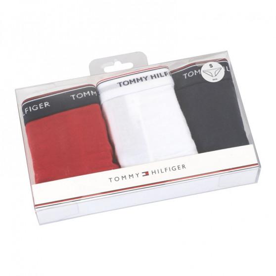 3PACK dámské kalhotky Tommy Hilfiger vícebarevné (UW0UW00043 012)