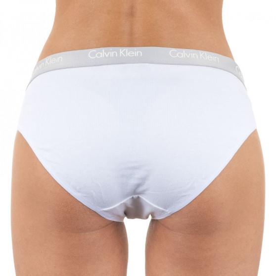 2PACK dámské kalhotky Calvin Klein bílé (QD3584E-100)