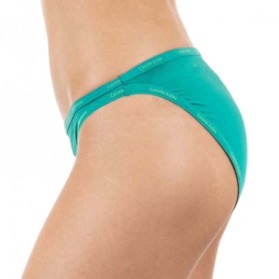 Dámské kalhotky Calvin Klein zelené (QF4530E-GXS)