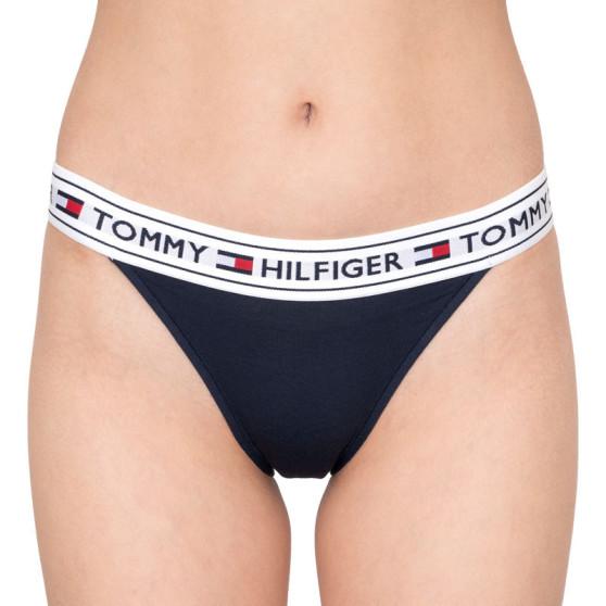 Dámské kalhotky Tommy Hilfiger tmavě modré (UW0UW00726 416)