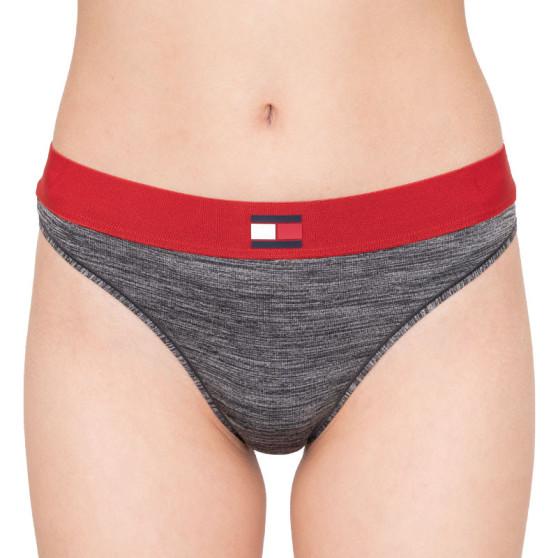 Dámské kalhotky Tommy Hilfiger šedé (UW0UW01042 091)