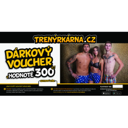 Elektronický voucher 300,- (zaslání pouze e-mailem)