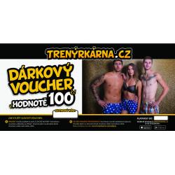 Elektronický voucher 100,- (zaslání pouze e-mailem)