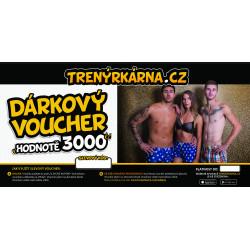 Elektronický voucher 3000,- (zaslání pouze e-mailem)