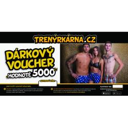 Elektronický voucher 5000,- (zaslání pouze e-mailem)
