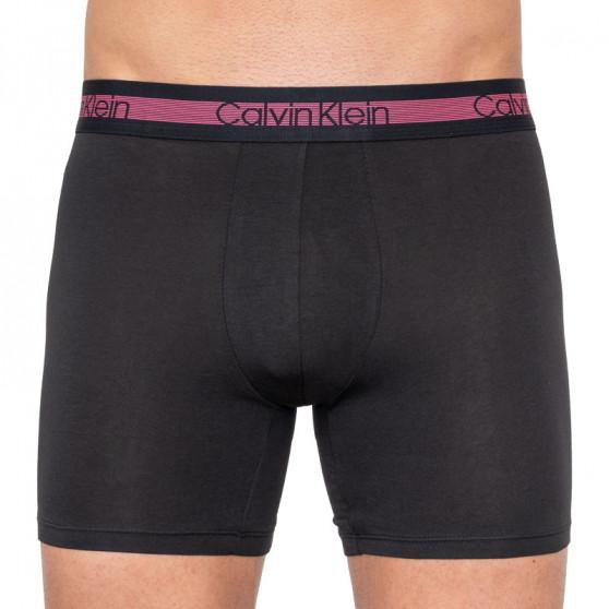 3PACK pánské boxerky Calvin Klein černé (NB1798A-ZCV)