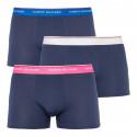 3PACK pánské boxerky Tommy Hilfiger tmavě modré (UM0UM01642 027)