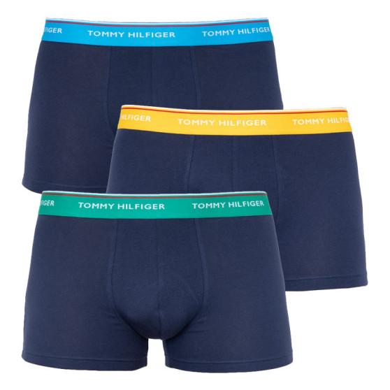 3PACK pánské boxerky Tommy Hilfiger tmavě modré (UM0UM01642 024)