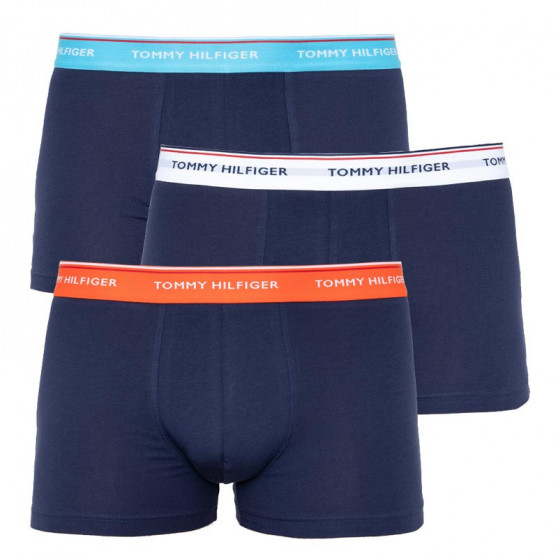3PACK pánské boxerky Tommy Hilfiger tmavě modré (UM0UM01642 0XM)