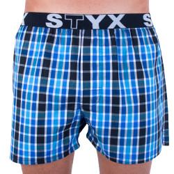 Pánské trenky Styx sportovní guma vícebarevné (B728)