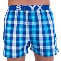 Pánské trenky Styx sportovní guma vícebarevné (B712)