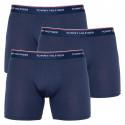 3PACK pánské boxerky Tommy Hilfiger tmavě modré (UM0UM00010 409)