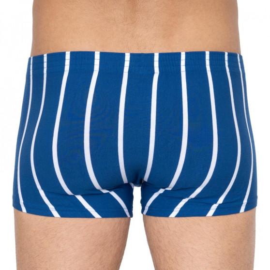 Pánské boxerky Styx klasická guma modré (Q761)