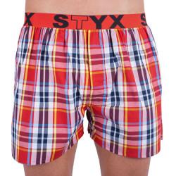 Pánské trenky Styx sportovní guma vícebarevné (B639)