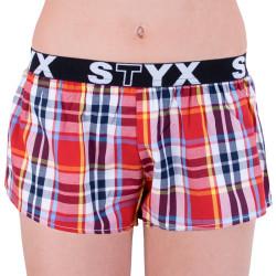 Dámské trenky Styx sportovní guma vícebarevné (T639)