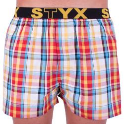 Pánské trenky Styx sportovní guma vícebarevné (B621)