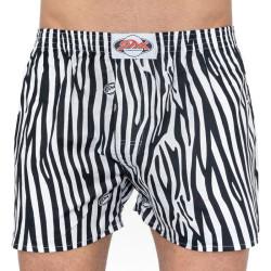 Pánské trenky Styx art klasická guma černá zebra (A650)