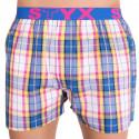 Pánské trenky Styx sportovní guma vícebarevné (B613)