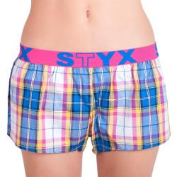 Dámské trenky Styx sportovní guma vícebarevné (T613)