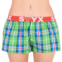 Dámské trenky Styx sportovní guma vícebarevné (T618)