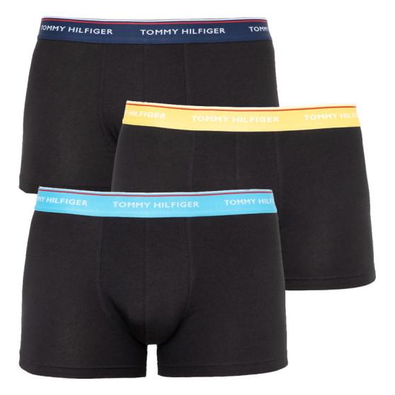 3PACK pánské boxerky Tommy Hilfiger černé (UM0UM01642 0XN)