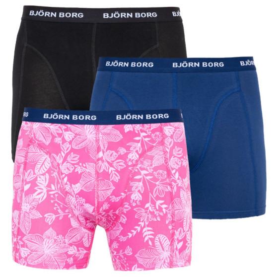 3PACK pánské boxerky Bjorn Borg vícebarevné (2011-1005-60281)