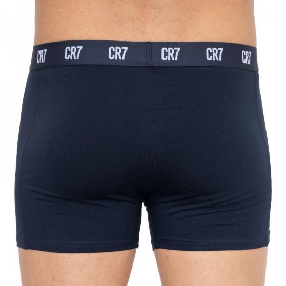 3PACK pánské boxerky CR7 vícebarevné (8100-49-2701)