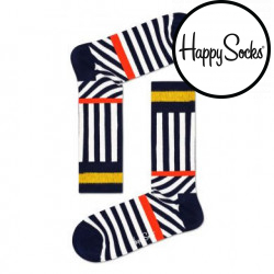 Ponožky Happy Socks Stripes and Stripes (SOS01-6500)