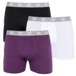 3PACK pánské boxerky CR7 vícebarevné (8100-49-2710)