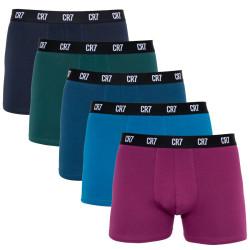 5PACK pánské boxerky CR7 vícebarevné (8106-49-2401)