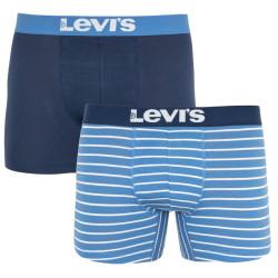 2PACK pánské boxerky Levis modré (905011001 003)