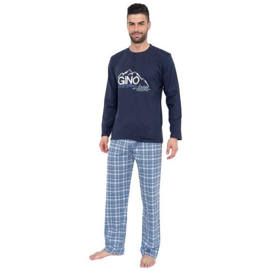 Pánské pyžamo Gino modré (79025)
