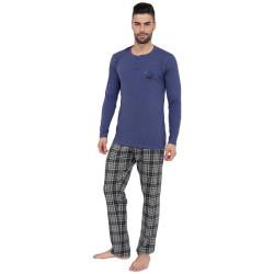 Pánské pyžamo Gino modré (79071)