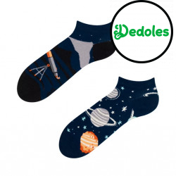 Veselé ponožky Dedoles Vesmír krátké GMLS031 (Good Mood)