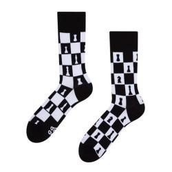 Veselé ponožky Dedoles Šachy GMRS095 (Good Mood)