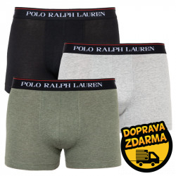 3PACK pánské boxerky Ralph Lauren vícebarevné (714662050050)