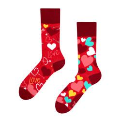 Veselé ponožky Dedoles srdíčka GMRS110 (Good Mood)