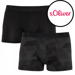 2PACK pánské boxerky S.Oliver vícebarevné (26.899.97.5628.13F2)