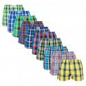 10PACK pánské trenky Styx klasická guma vícebarevné (A7381234567910)