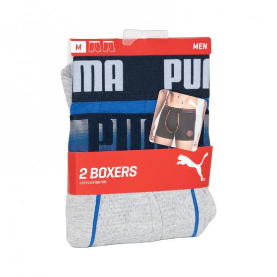 2PACK pánské boxerky Puma vícebarevné (501009001 010)